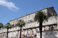 Diocletian slott Arkivfoton