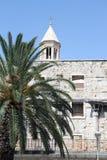 Diocletian slott Arkivbilder