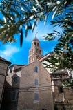 Diocletian slott i Spl Arkivfoton