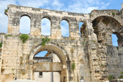 diocletian slott s Arkivbild