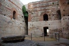 diocletian slott s Royaltyfria Bilder