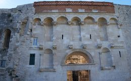 diocletian slottsplit Royaltyfria Foton