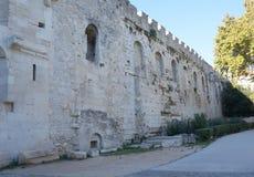 diocletian slottsplit Royaltyfri Fotografi