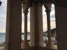 Diocletian& x27; s pałac Obrazy Royalty Free