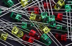 dioda doprowadziła Fotografia Stock