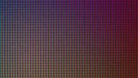Diode d'ampoule du plan rapproché LED d'écran de moniteur d'ordinateur Images stock
