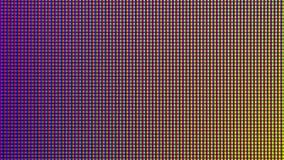 Diode d'ampoule du plan rapproché LED d'écran de moniteur d'ordinateur Image libre de droits