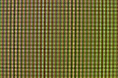 Diode d'ampoule du plan rapproché LED d'écran de moniteur d'ordinateur Photos libres de droits