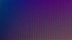 Diode du plan rapproché LED affichage d'écran de LED TV ou de LED de moniteur Image stock