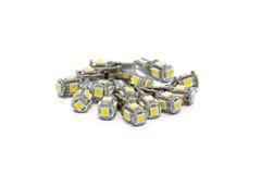 Diode light bulbs Stock Photos