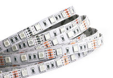 Diode strip. Led lights tape Stock Photography