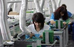 Dioden-Arbeiter Stockfoto