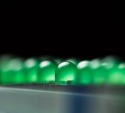 dioder som sänder ut lampa Royaltyfri Foto