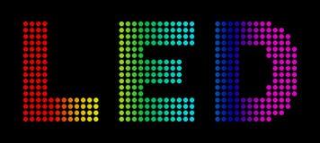 Diodes électroluminescentes Photo stock