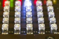 Diodes de LED Images libres de droits