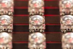 Diodi del LED Fotografie Stock Libere da Diritti