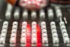 Diodi del LED Fotografia Stock