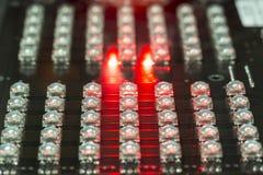 Diodi del LED Immagini Stock