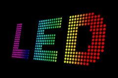 Diodi luminescenti Immagini Stock