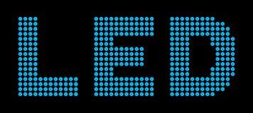 Diodi luminescenti Immagine Stock Libera da Diritti