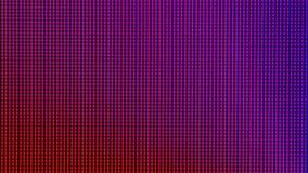 Diodo del bulbo de las luces LED del primer el panel de pantalla de visualización del monitor del LED TV o del LED Foto de archivo