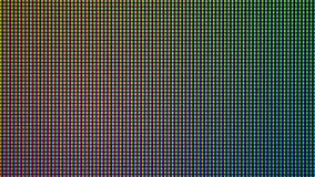 Diodo del bulbo de las luces LED del primer de la pantalla de monitor de computadora Imagen de archivo libre de regalías