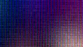Diodo del bulbo de las luces LED del primer de la pantalla de monitor de computadora Imagen de archivo
