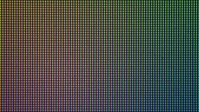 Diodo del bulbo del primer LED de la pantalla de visualización del monitor de computadora Foto de archivo libre de regalías