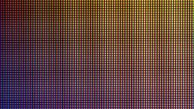 Diodo del bulbo del primer LED de la pantalla de visualización del monitor de computadora Imagen de archivo libre de regalías