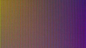 Diodo del bulbo del primer LED de la pantalla de visualización del monitor de computadora Imagenes de archivo