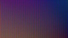 Diodo del bulbo del primer LED de la pantalla de visualización del monitor de computadora Fotos de archivo