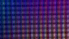 Diodo del primo piano LED visualizzazione da monitor del LED TV o del LED Immagine Stock