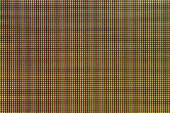 Diodo della lampadina del LED dallo schermo di monitor del computer Fotografia Stock Libera da Diritti