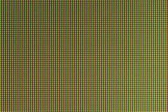 Diodo della lampadina del LED dallo schermo di monitor del computer Immagini Stock