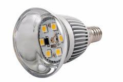 Diodo economizzatore d'energia della lampada Fotografia Stock Libera da Diritti