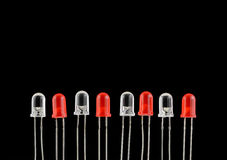 Diodo emissor de luz Fotografia de Stock Royalty Free
