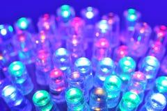 Diodo emissor de luz colorido Imagens de Stock