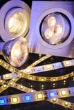 Diodo emissor de luz diferente Foto de Stock