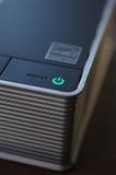 Diodo emissor de luz do poder do PC Foto de Stock Royalty Free