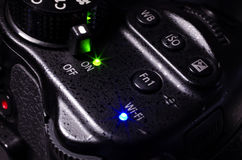 Diodo emissor de luz do poder do PC Imagem de Stock Royalty Free