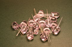 Diodos do diodo emissor de luz fotos de stock royalty free