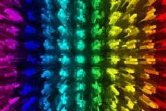 Diodos electroluminosos Foto de archivo libre de regalías