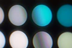 Diodos luminescentes para a exposição de diodo emissor de luz Fundo de tela do diodo emissor de luz de Digitas Imagem de Stock Royalty Free
