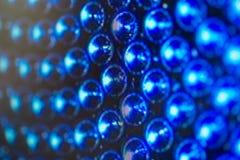 Diodos luminescentes para a exposição de diodo emissor de luz Fundo de tela do diodo emissor de luz de Digitas Foto de Stock