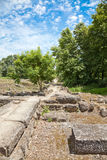 Dion Archeological Site Royalty Free Stock Images