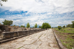 Dion Archeological Site Royalty Free Stock Photo