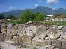 Dion, Grecia Foto de archivo