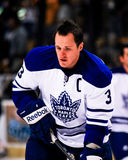 Dion Phaneuf Toronto Maple Leafs Foto de Stock Royalty Free