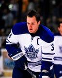 Dion Phaneuf Toronto Maple Leafs photo libre de droits