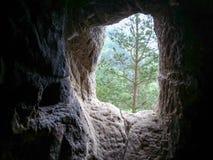 Dionisie sanctum okno Obraz Royalty Free